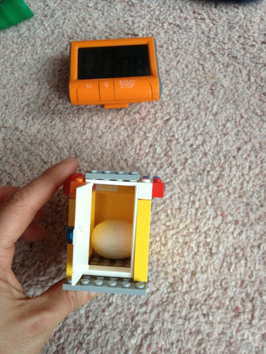 Lego-building challenge