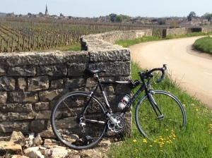 Taking a bike from London to Burgundy