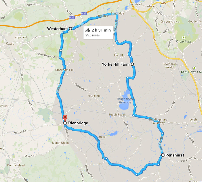 From Google Maps to GPX to Garmin – creating a cycle route